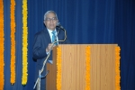 Dr. Singhal addresses the audience