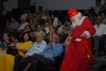 Santa distributes sweets!