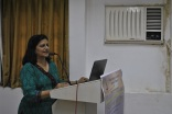 Kavita at the Conquering Epilepsy Book launch Press Conference