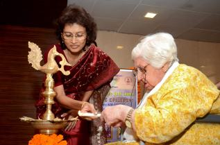 Sarah Sharma inaugurates the function
