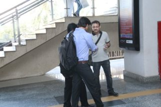 Creating awareness at Andheri Metro Station
